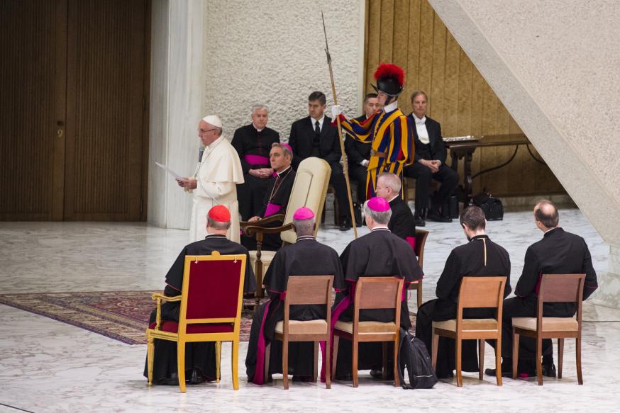 Pope Francis - Joe Biden - Audience - Paul VI Hall