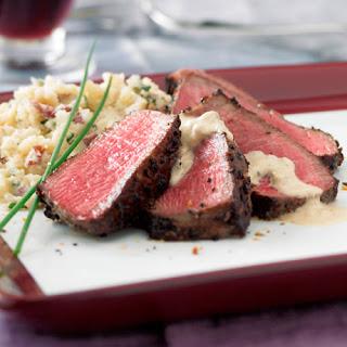 Garlic & Herb Beef Tenderloin Recipe