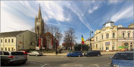 Photo: Turda - Piata Republicii, vedere Piata Tricolorului  - 2019.03.23