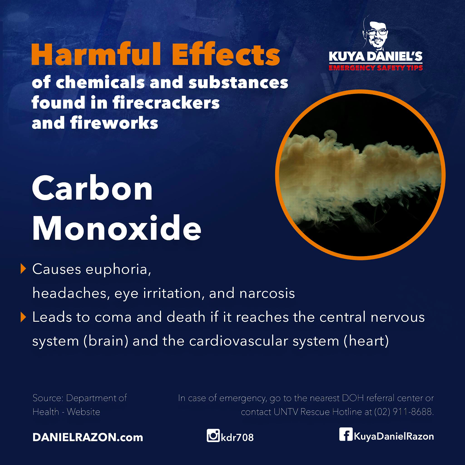 carbon monoxide side effects