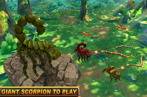 Wild Scorpion Family Jungle Simulator 1.3 screenshots 6
