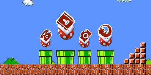 スーパーマリオのゲームのテーマ