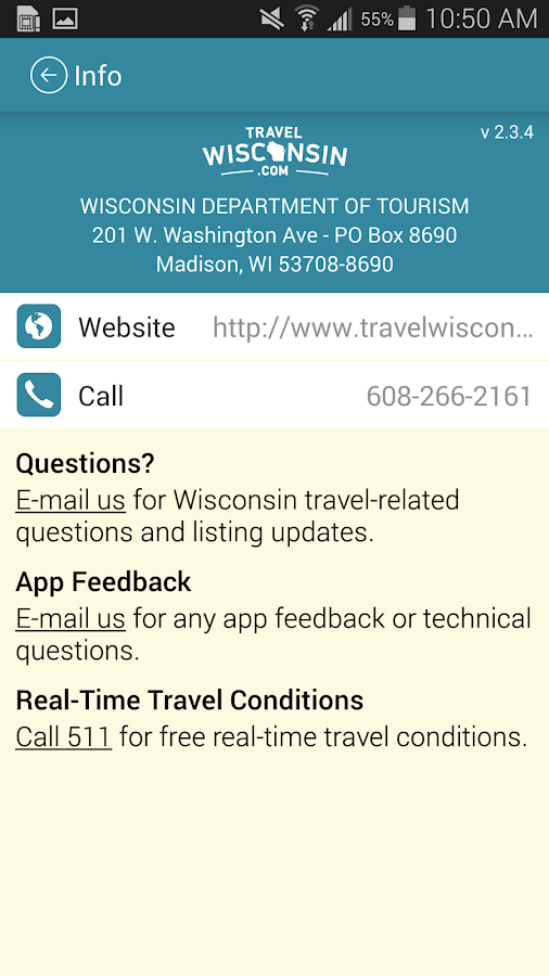 Travel Wisconsin- screenshot