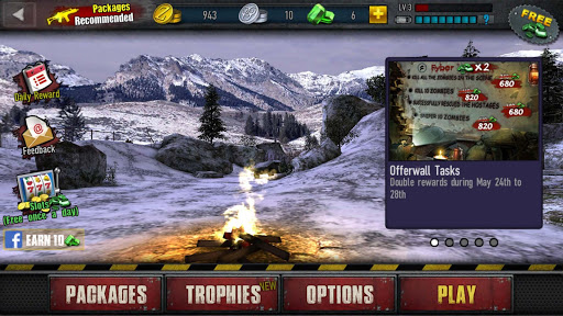 Zombie Frontier 3: Jeu de Tir  captures d'u00e9cran 21