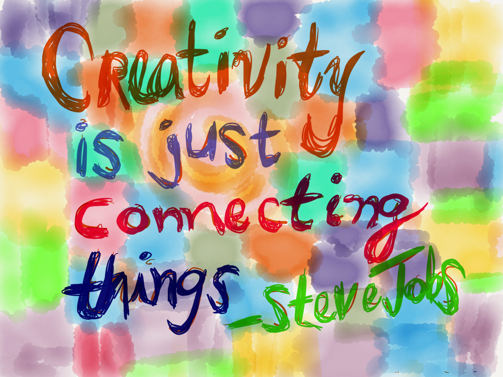 ... Creativity is Just ...