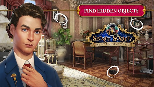 The Secret Society – Hidden Objects Mystery Mod Apk Download For Android and Iphone 8