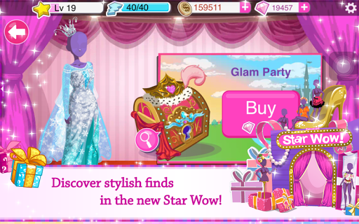 Star Girl - Fashion, Makeup & Dress Up screenshot 17