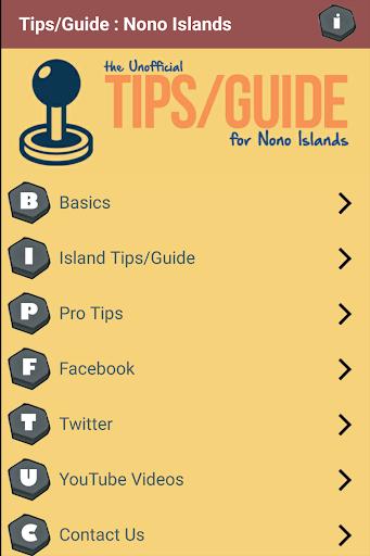 Tips Guide - for Nono Islands
