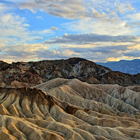 Death Valley by Randi Hodson - Landscapes Mountains & Hills ( clouds, hills, sand, desert, landscape,  )