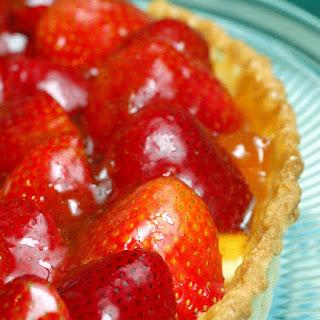 (Fresh Strawberry Tart - cold)