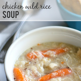 Slow Cooker Chicken Wild Rice Soup..