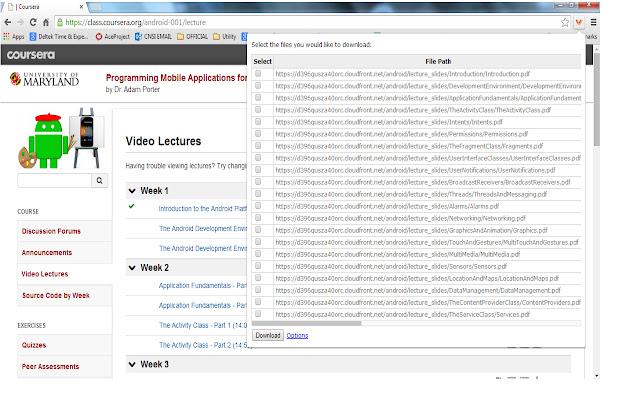 Multiple File Download