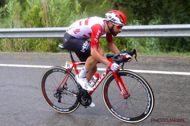 Drie Belgen glippen mee in vlucht van de dag in de Vuelta
