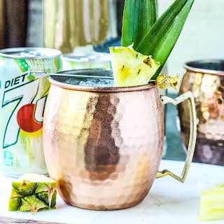 Pineapple Moscow Mules.