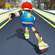 Roller Skating 3D icon