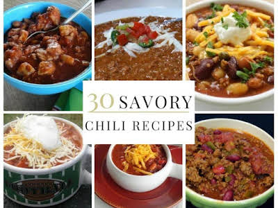 30 Savory Chili Recipes