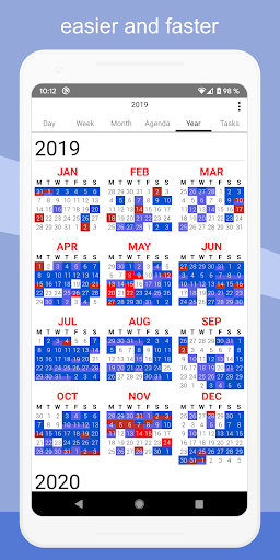Screenshot for CalenGoo - Calendar and Tasks in United States Play Store