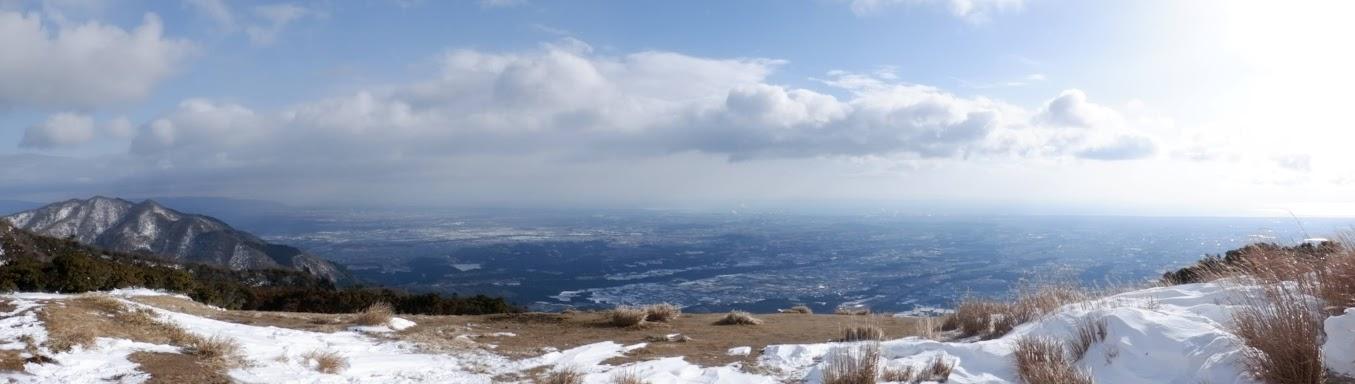 入道ヶ岳からパノラマ