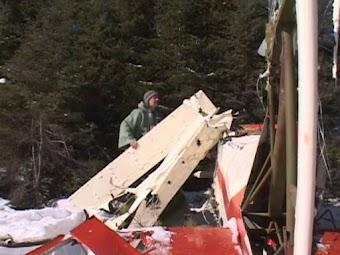 Winter Plane Crash