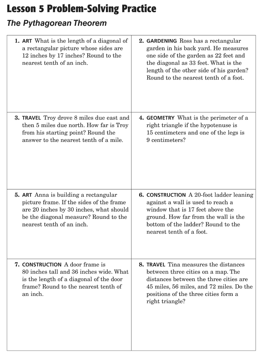 Lesson 3 Problem Solving Practice Write Two Step Equations