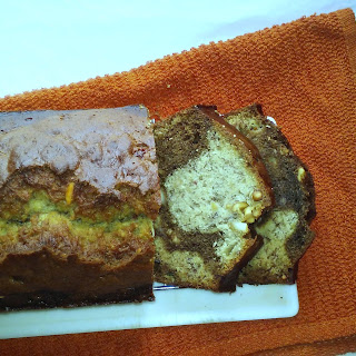 Coffee Spiked Banana Cashew Bread Recipe