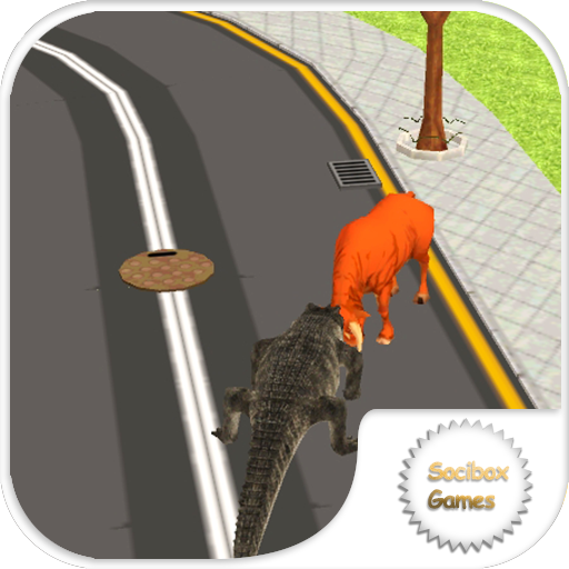 wild crocodile simulator