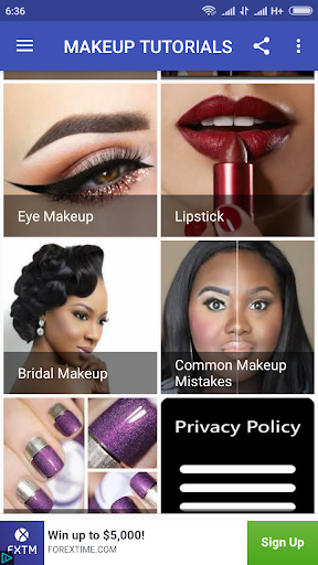 Makeup Tutorials 1.0 screenshots 6