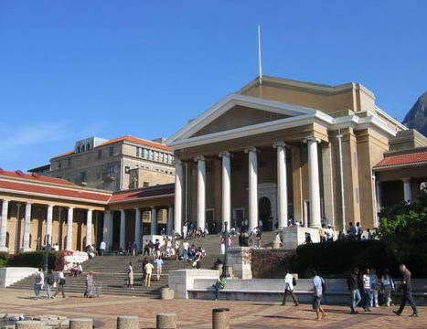 University of Cape Town. File photo