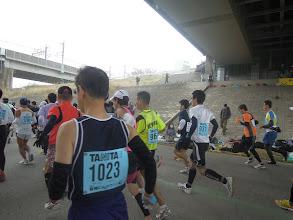 Photo: たいちょう+前半の伴走者、けいくん
