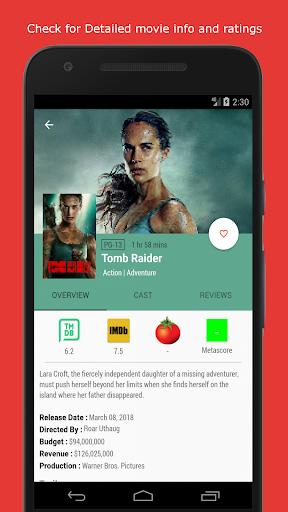Movie & TV Listings – Recommendations & Reviews v1.9 screenshots 2