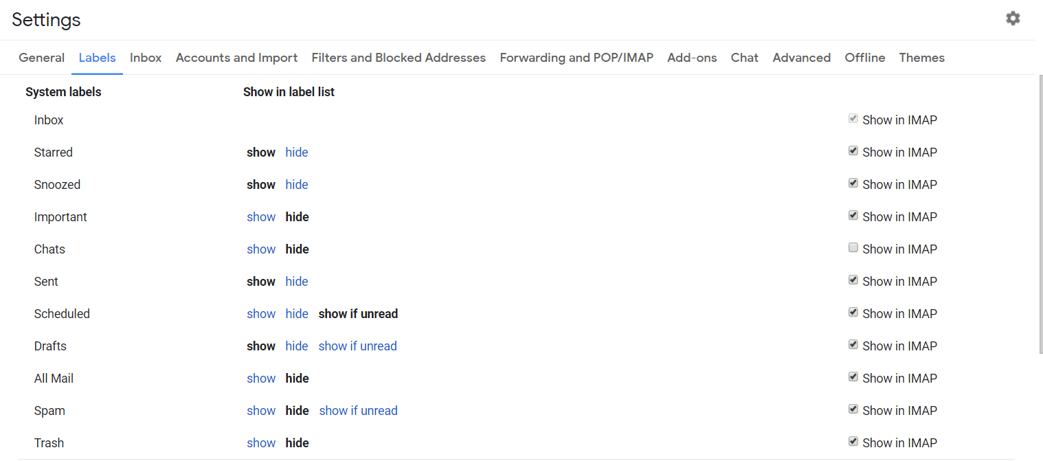 How to Create Gmail Labels and Drastically Improve Productivity - gmail settings - autoklose.com