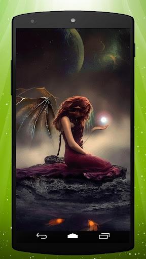 Evil Fairy Live Wallpaper