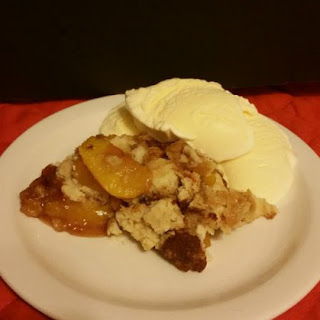 Cinnamon Peach Cobbler