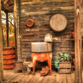 Cajun Village by Ron Olivier - Digital Art Places ( cajun village,  )