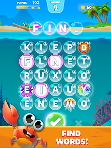 Bubble Word – Word Games Puzzle 9