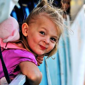 cutie pie by Greg Crisostomo - Babies & Children Children Candids ( child, girl, cute, smile, kid, KidsOfSummer )
