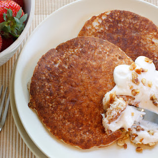 High Protein Crunchy Pancakes.