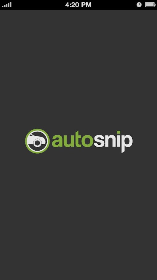 Autosnip – Screenshot