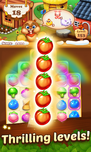 Farm Harvest 3- 2019 Match 3 Puzzle Free Games 3.2.4 screenshots 8