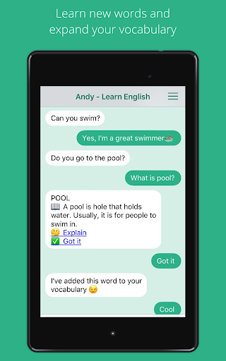 Andy - English Speaking Bot  screenshots 9