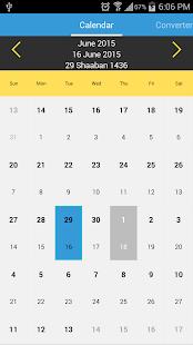 islámský kalendář 2017 - náhled