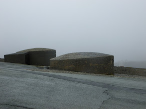 Photo: Volcano shelters