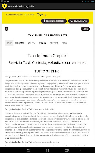 Taxi Iglesias Cagliari
