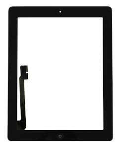 iPad 4 Touch Digitizer Original Black