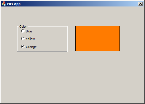 Group box and Radio button