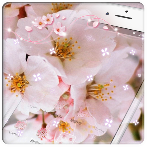 Sakura Cherry Pink Wallpaper