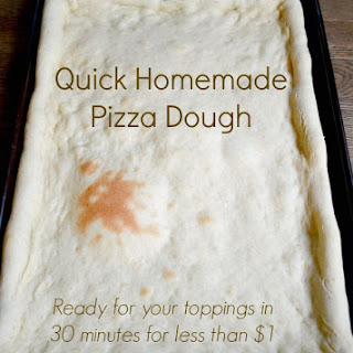 Make Quick Homemade Pizza Dough