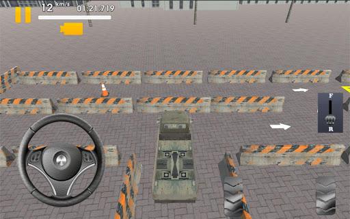 トラック駐車場3D