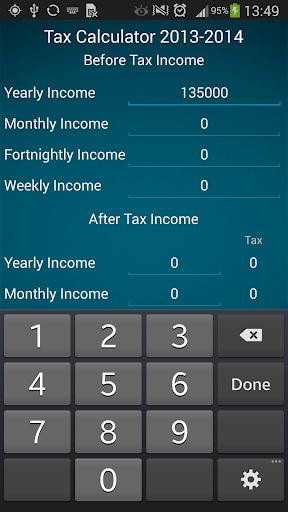 Compared to income tax.