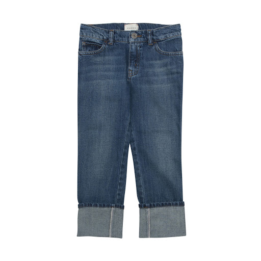Thumbnail images of Gucci Blue Wash Denim Jean